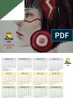 CALENDRIO UFRR 2017
