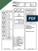 D&D 5ed - Ficha de Personagem - Levy