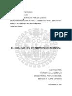 Patricia Vargas - El Comiso Del Patrimonio Criminal