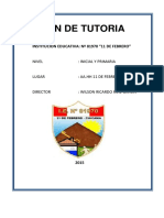 Plan Anual de Tutoria de i.e. 81970