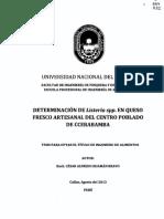 TESIS QUESO FRESCO - HUANCAVELICA