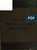 Acts - Romans - American Commentary