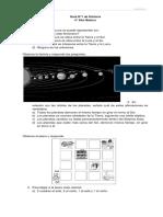 Guía N°1 Historia y Geografía para 4° Básico