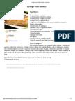 Frango Com Shitake _ Nutrição Funcional