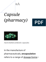 Capsule (Pharmacy) - Wikipedia