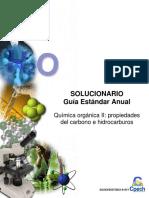 2015 Solucionario Clase 20 Química Orgánica II Propiedades Del Carbono e Hidrocarburos