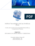 ITLA Diplomado en Ciberseguridad y Autodefensa