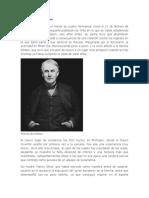 Biografia Thomas Alva Edison