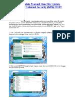 Cara Update Manual Kis 2010