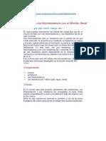 03 Sensando Una Fotorresistencia Con El Monitor Serial