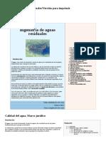 Ingeniería de Aguas Residuales%2FVersión Para Imprimir