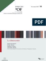 Démocrtie Publication PDF Cahierducevipof36