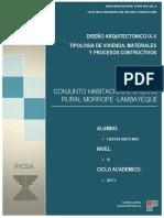 Memoria Materiales y Procesos Constructivos