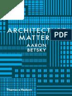 Architecture Matters.pdf