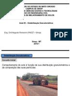 Fot 12116aula 03 - Estabilizacao Mecanica - Substituicao Do Matebial PDF Aula 03 - EstabilizaCAo MecAnica - SubstituiCAo Do Material