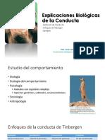 Unidad I. Explicaciones Biológicas de La Conducta