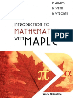 Introduction to Mathematics With Maple.pdf