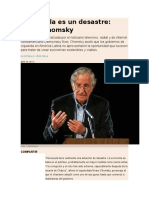 Venezuela Es Un Desastre, Chomsky