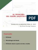 03 El Problema Del Diseño Arquitectónico