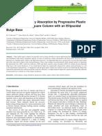Mechanics of Energy Absorption by Progressive Plastic