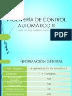 Introducción a Control Discreto Parte I