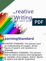 Creative Writing Lesson 1