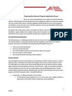 Doctoral Application Essay Guidelines 1 14 14