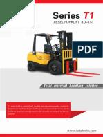 TOTAL FORKLIFT T1 Series Diesel Forklift 3.0-3.5T
