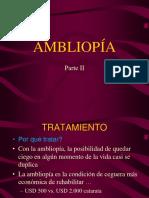 AMBLIOPIA TRATAMIENTO