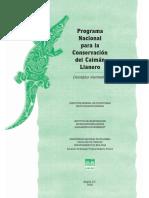 Programa Nacional para la Conservacion del Caimán Llanero.pdf