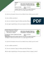 Examen SOLDADURA