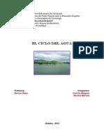 Informe Del Ciclo Del Agua