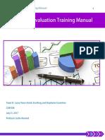 team d program evaluation training material
