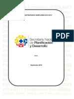 Plan Estrategico Senplades 2014 2017