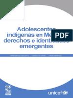 Adolescentes indígenas