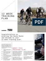 Haute Route Training Plan V2