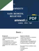 Tax Amnesty Presentation