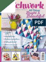 Popular Patchwork Magazine August 2017