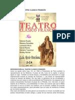Historia Del Teatro Clásico Francés