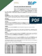 Contrato de Locación h & s Communications s.a.c. y Vmpb