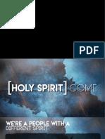 Holy Spirit Come - David McDonald