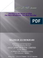 Introduction to Islamic Banking By Mazher Ali Bokhari.ppt