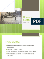 Horses in Seattle PP