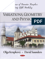 Krupka D., Et Al. (Eds.)-Variations, Geometry and Physics, In Honour of Demeter Krupka's 65 Birthday-Nova (2009)