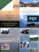 Mountains Shepherds Brochure