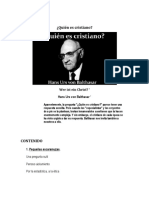 Quien Es Cristiano - Hans Urs Von Balthasar