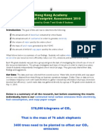 HKA Ecological Footprint Overview