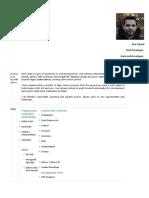 PHP CV Ihor Hamal