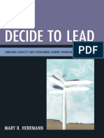 Decide to Lead Building Capacity and Leveraging