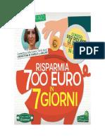 Leggi Libri Online.. Risparmia 700 Euro in 7 Giorni Di Lucia Cuffaro (ITALIANO) PDF eBook Epub